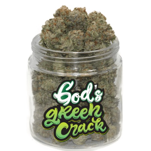 buy god's green crack cannabis strain